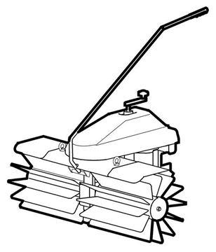 Bild von Kehrmaschine ohne Sammelbehälter 100cm