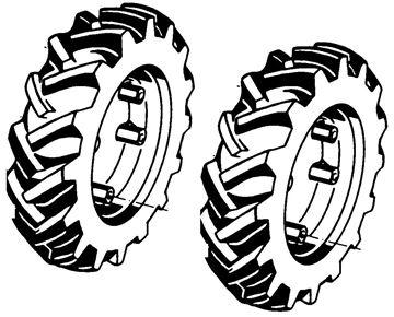 Image de paire de roues 4.00-10 AS