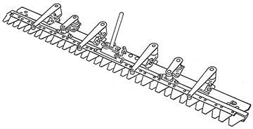 Bild von Doppelmessermäheinrichtung 125cm